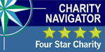 Four Star Charity Navigator Rating